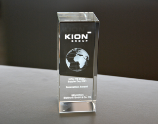 First KION Supplier Award for innovation goes to SEMIKRON