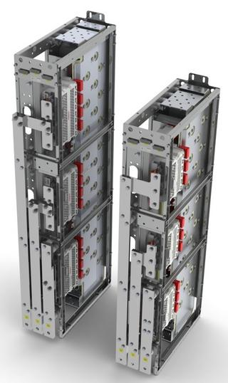 SEMIKRON's range of three-phase inverters are water-cooled, qualified and ready for use inside a power cabinet