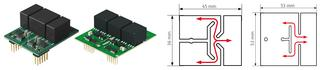 Fig. 1a/b: SKYPER 12 PV and the more powerful SKYPER 42 LJ PV driver / Fig. 2a/b: PCBs with creepage distance