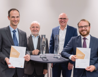 SEMIKRON Foundation and ECPE honour Dr. Tobias Geyer with the Innovation Award 2021 while this year's Young Engineer Award goes to Dr. Jakub Kucka