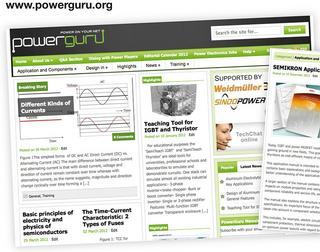 Power electronics platform, PowerGuru.org is online
