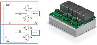 MiniSKiiP Dual Split MLI for 1000V systems