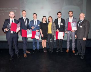 SEMIKRON Foundation and ECPE honour two teams with the Innovation Award 2019 while this year's Young Engineer Award goes to Andreas Bendicks